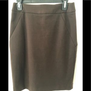Women's size 4 professional brown skirt
